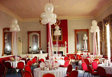 Decoraci n de bodas con globos - Arreglos con globos para boda ...