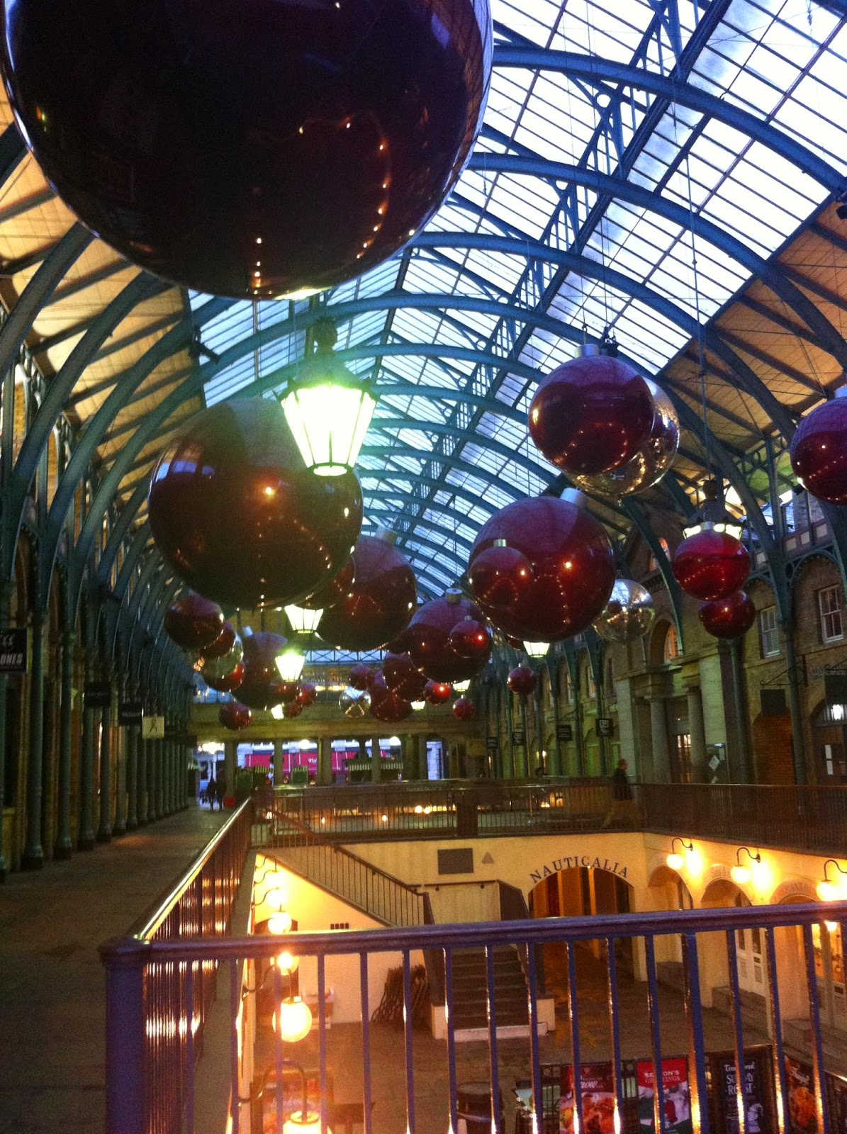 Christmas at Covent Garden London