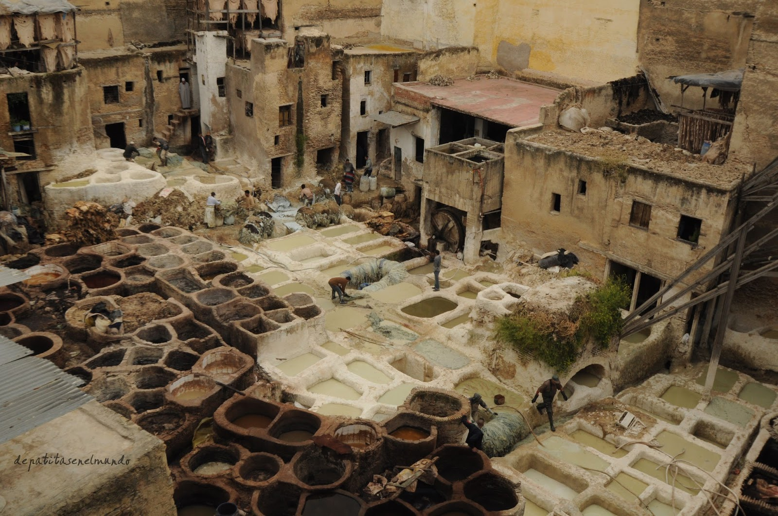 Curtidurias de Fez