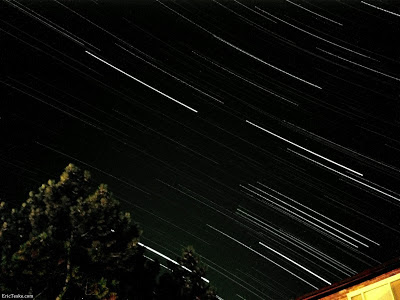 long star trails with iphone camera