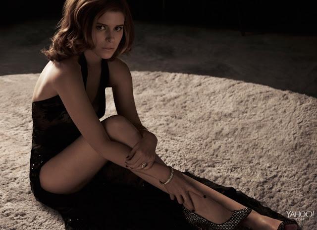 Kate Mara's hot legs in sexy high heels