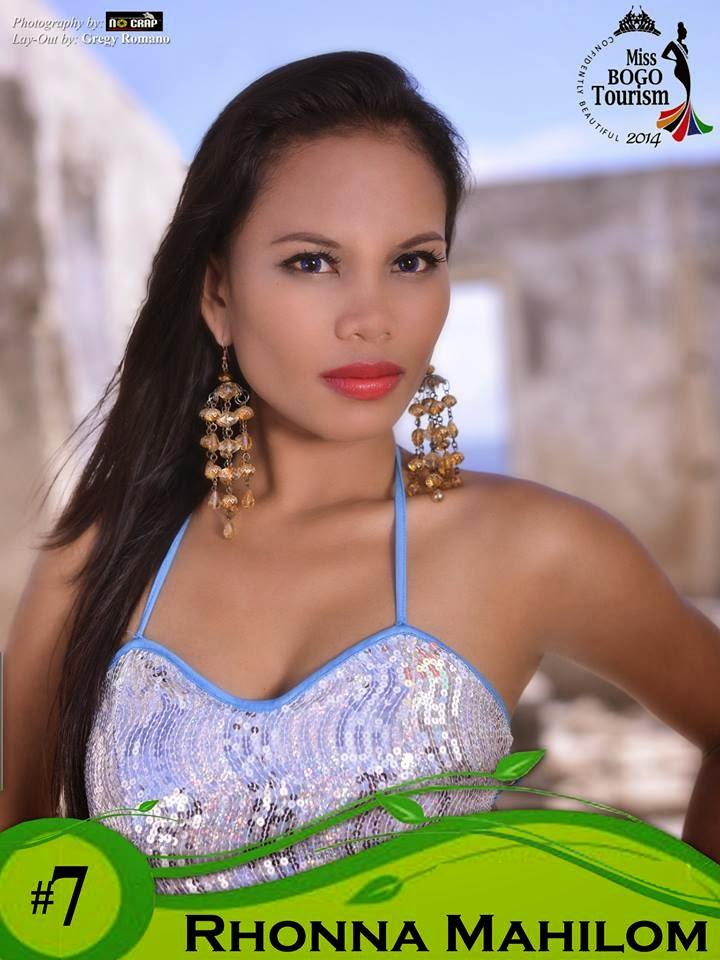 Rhonna Mahilom  - Miss Bogo Tourism 2014