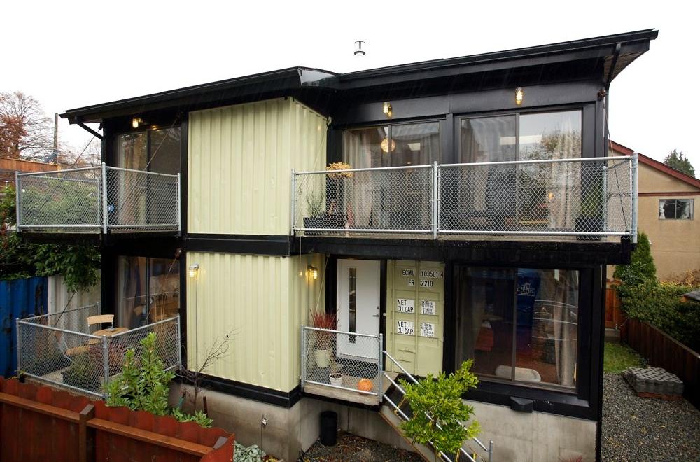 Construcci n con contenedores desarrollo sustentable - Casa in canapa costo ...
