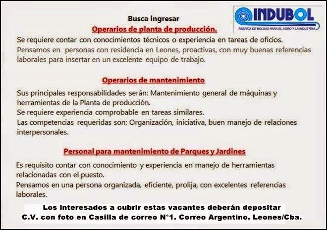 ESPACIO PUBLICITARIO: INDUBOL LEONES