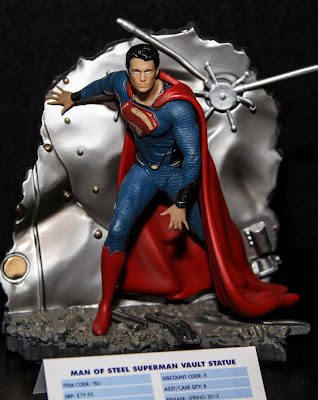 DC Collectibles Man of Steel Superman 1/12 Scale Statue