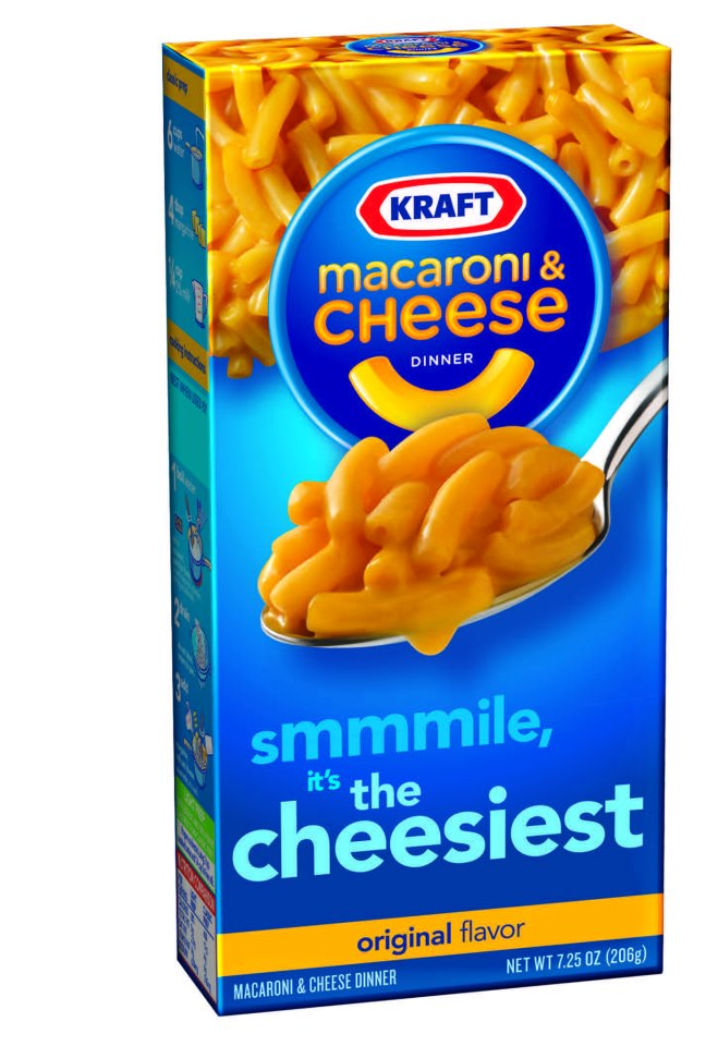 Image Gallery Mac And Cheese Box