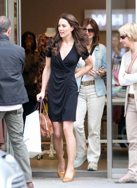 kate middleton latest hot sexy pics photos shopping black dress kings road london