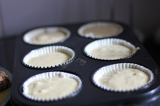 Bánh muffin chocolate trắng với cam 6