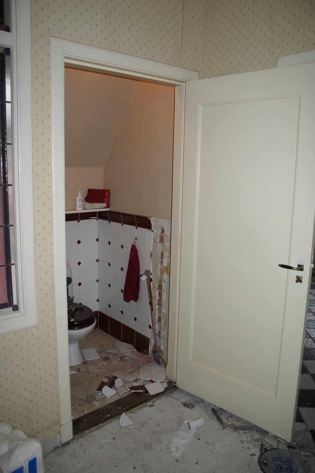 Willem2home slopen - Kleuren muur toilet ...