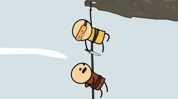 Cyanide And Happiness: The Rope