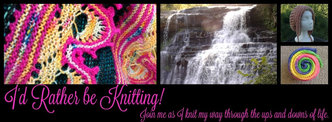 I'd rather be knitting!