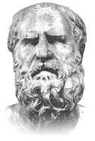 Filosofo griego Heráclito. Filosofos griegos. origen de los filosofos. decadencia del pensamiento griego. Grecia. Grecia antigua