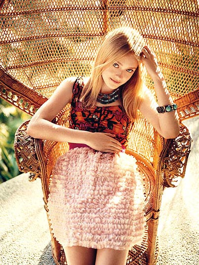 Dakota Fanning, Actress, Teen Vogue Magazine