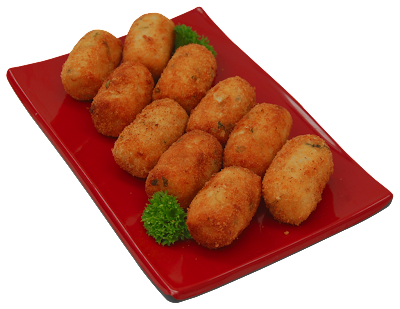 Croquete de vegetais light