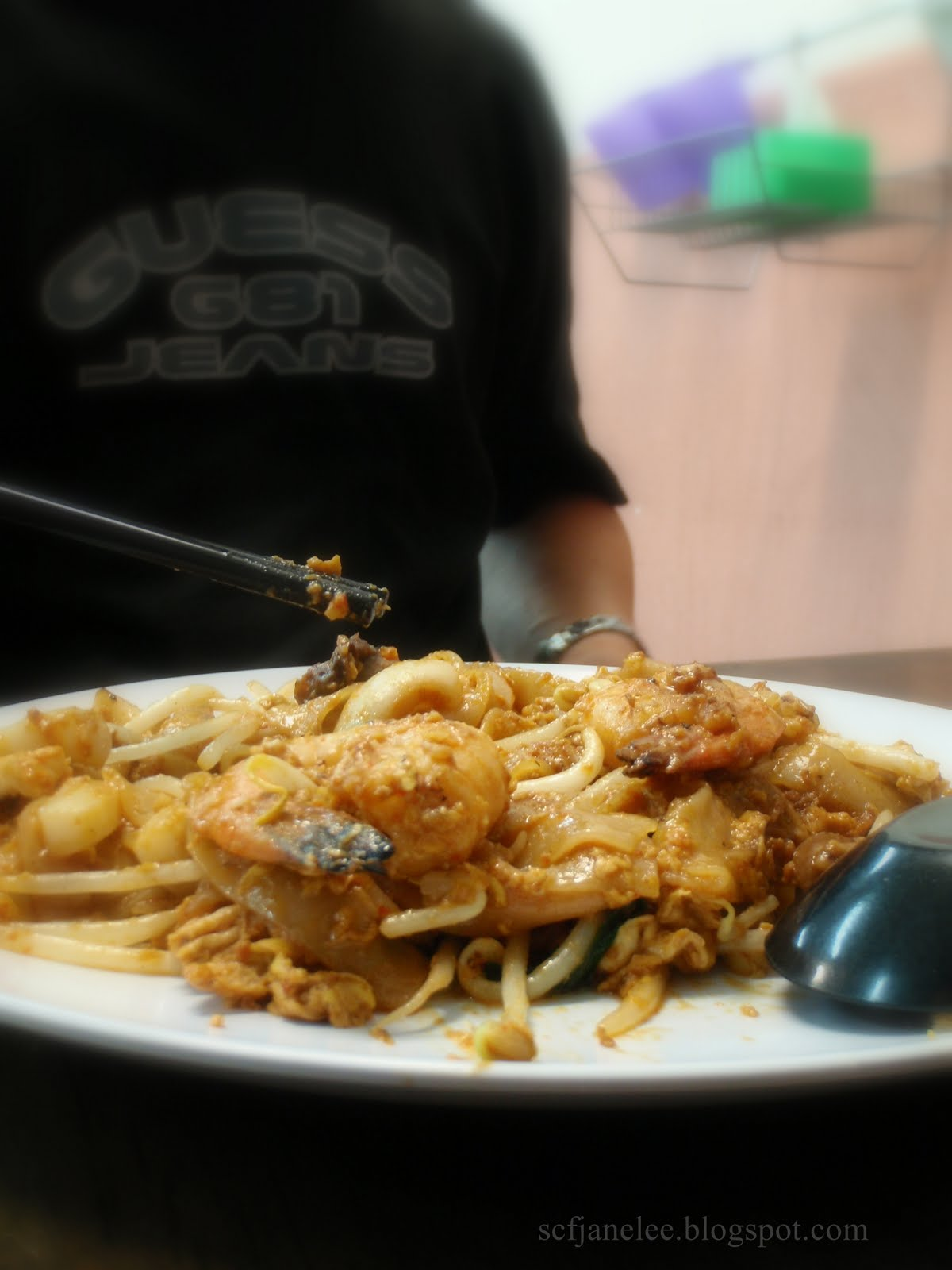 Ripple Thoughts USJ  Penang Sisters Char Koay Teow - Location map of usj 16