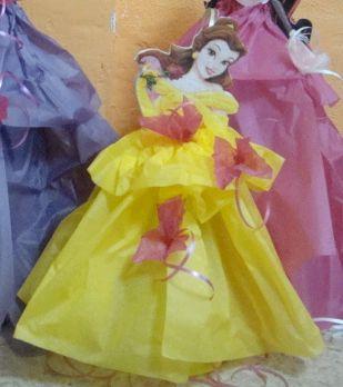 Centros de mesa de las princesas Disney | Manualidades