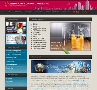 SEO Website Project : Lee Ming Blister