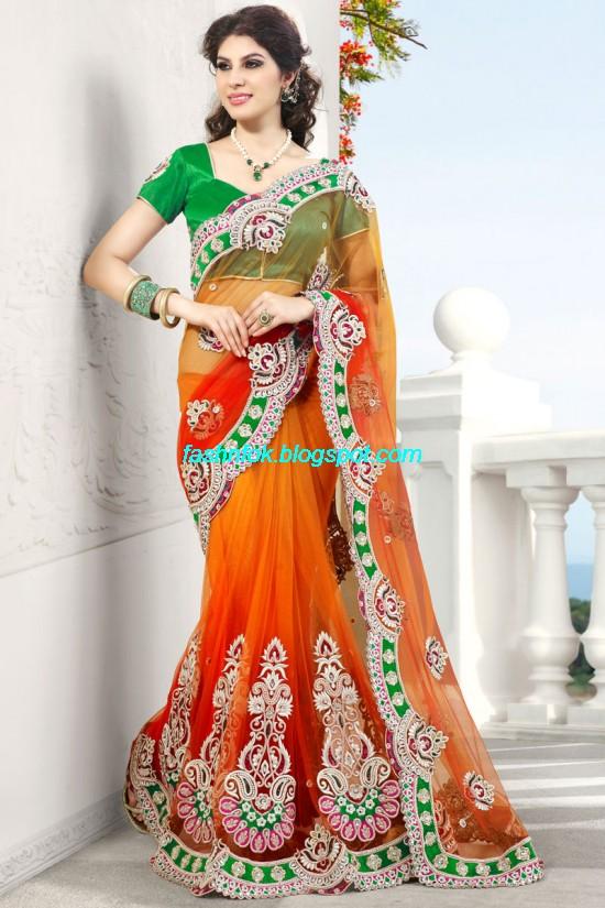 Fashion Amp Fok Indian Sarees For Wedding Bridal Wear
