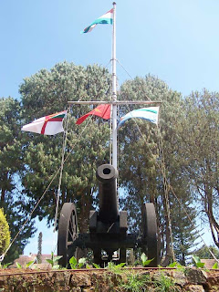 flag post of wellington staff college