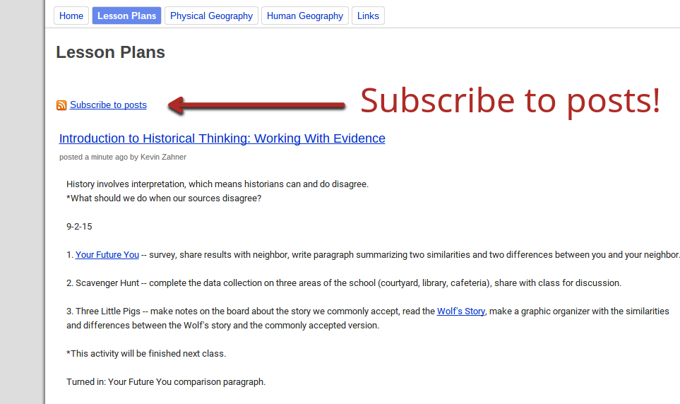 4 Google Apps to Share Lesson Plans