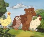 Eu amo o pequeno urso