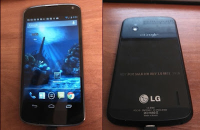 lg nexus 4 leaked release image | new gadgets, upcoming phone, gadget update | Gadget Pirate
