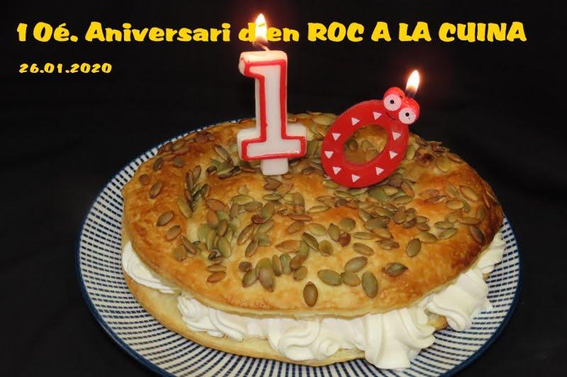 10é..aniversari del blog 26.01.2020