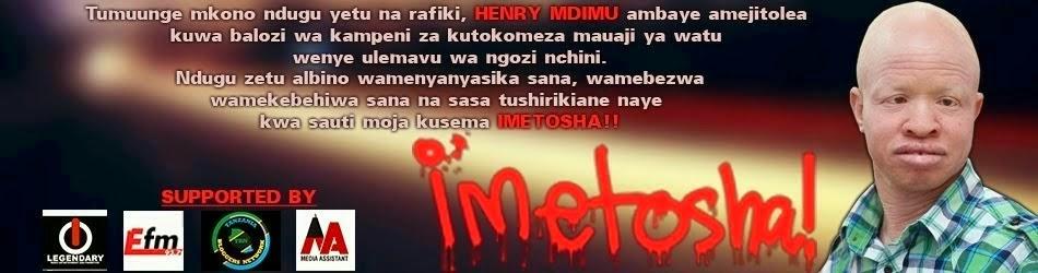 IMETOSHA!