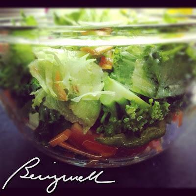 Making Garden Salad