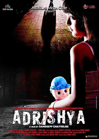 Poster Of Hindi Movie Adrishya 2017 Full HD Movie Free Download 720P Watch Online