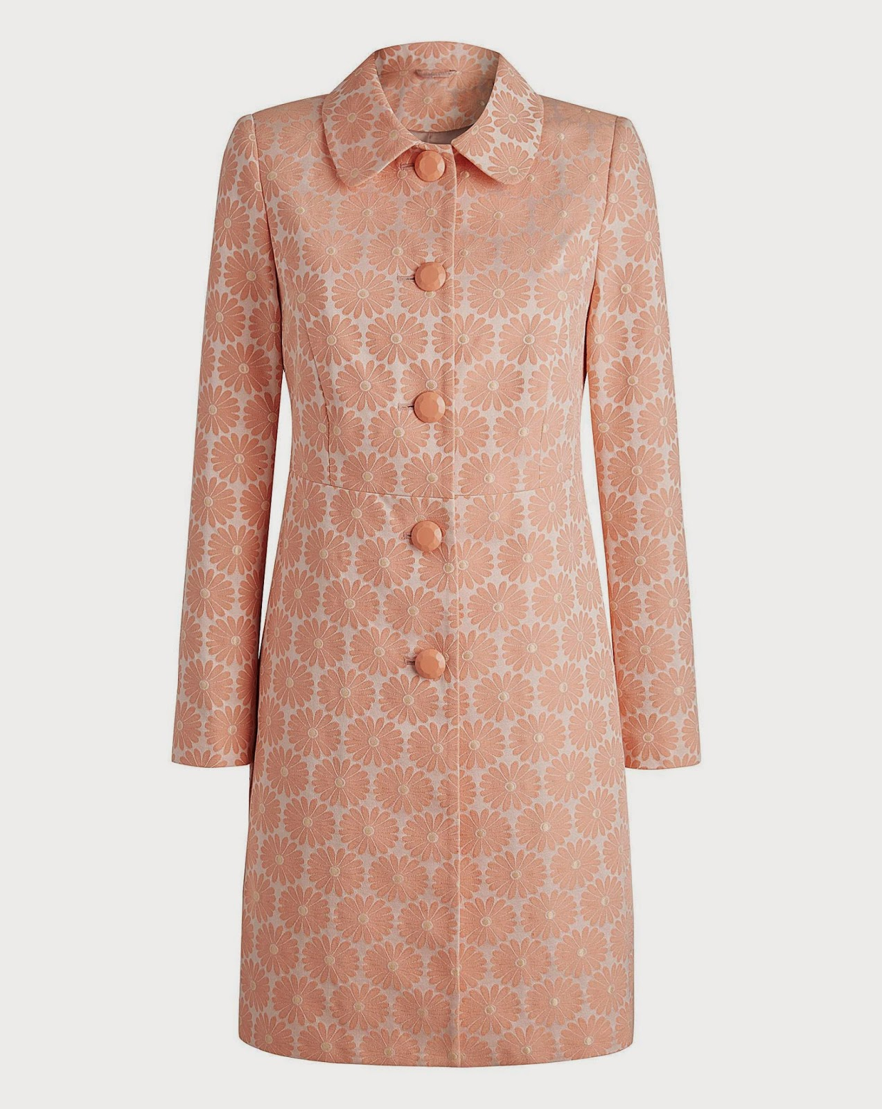 Simply Be Joanna Hope Daisy Jacquard Coat