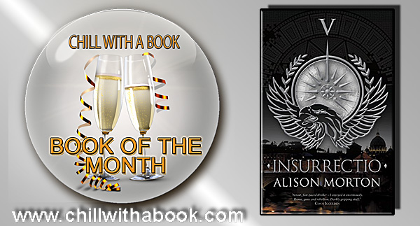 Book of the MONTH for February - Insurrectio By Alison Morton