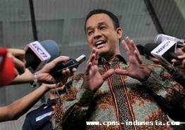 Mendikbud Anies Baswedan Sangat Keberatan Pembatalan Rekrutmen CPNS 2015