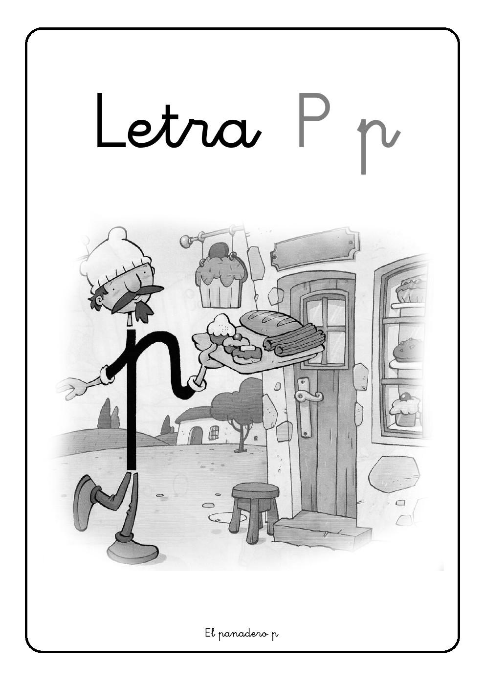La letra P   p ~ La Eduteca