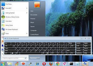 On-screen keyboard, keyboar rusak