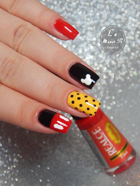 nail art mickey