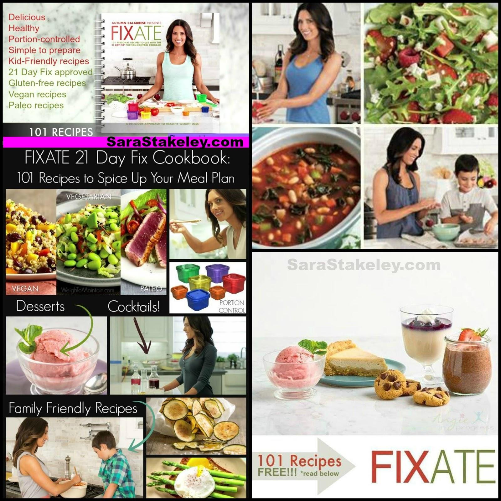 21 fix recipe book