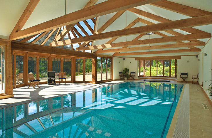 Swimming pool designs indoor swimming pools for Mansion plans with indoor pool