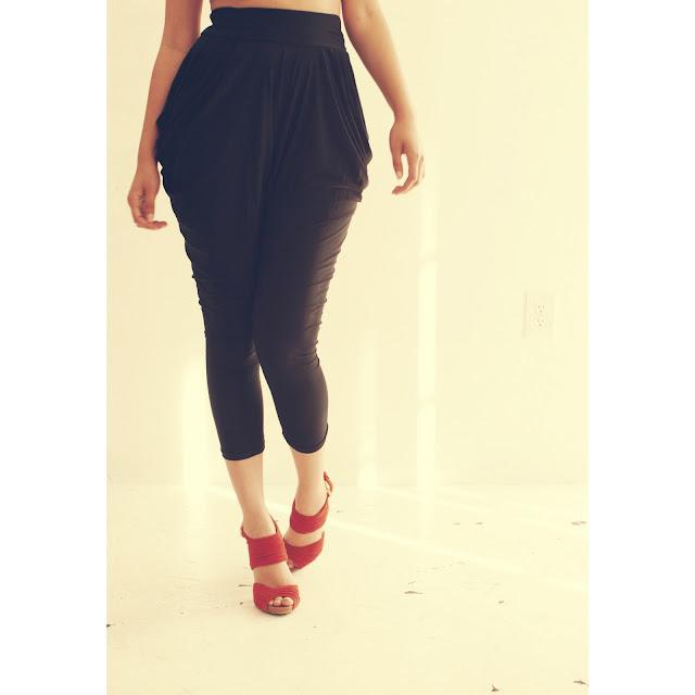 Blood Orange Heels