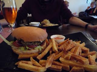 Vegan Burgers in Kaffihúsið Álafossi