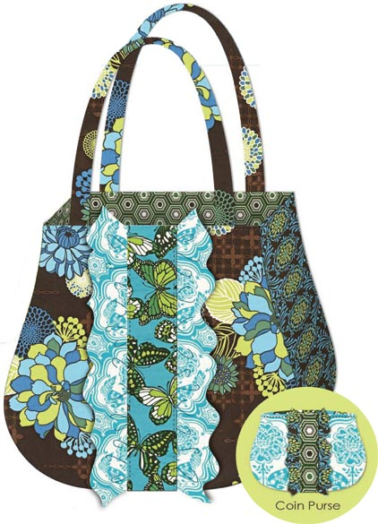 Ruffle+tote+and+coin+purse,+free+pattern+by+Josephine+Kimberling ...