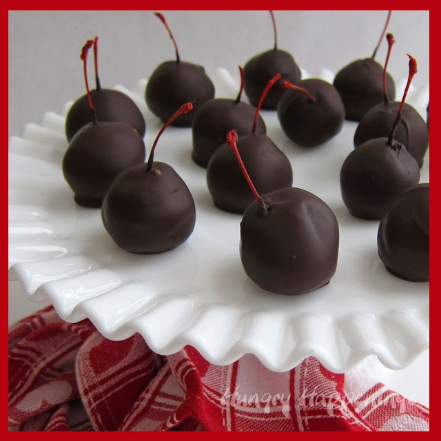 ... Day Dessert - Sweet Chocolate Cherry Bombs - Hungry Happenings