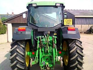 6210.3 776049 Tractor John Deere 6210SE 90Cp 2001 5100h