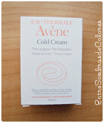 pan limpiador Avène Cold Cream