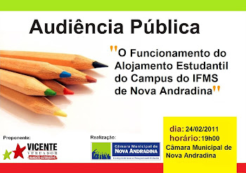 AUDIÊNCIA PÚBLICA - IFMS