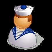 パワポマン(水兵さん/船員/船乗り/水夫/海軍軍人)