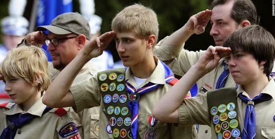 Boy Scouts group