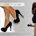 High Heels || Female Shoes || Fashion || Black Shoe || The Sims 4