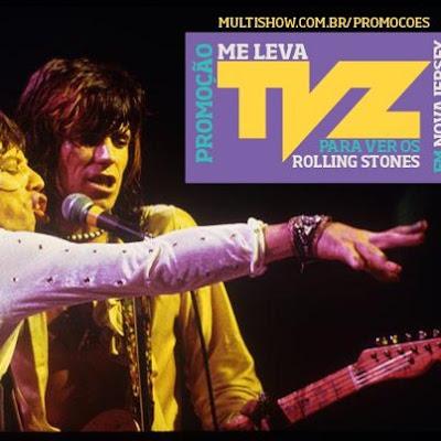 """Concurso Cultural  """"Me Leva TVZ - Rolling Stones em New Jersey"""""""