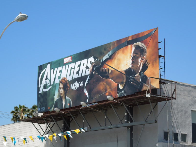Marvel Avengers billboard